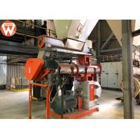 China Total 220kw Feed Pellet Production Line With SKF Bearing Capacity 10T/H wholesale