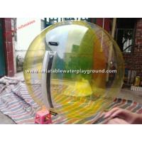 China Adult Inflatable Inflatable Water Walking Ball , Durable 0.7mm TPU Water Walkers wholesale