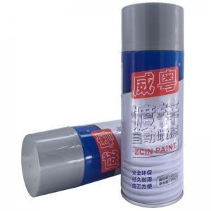 China Metal Electroplating Galvanized Zinc Aerosol Spray Paint wholesale