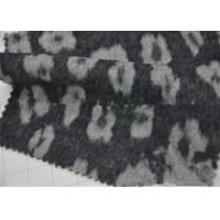 China Wrinkle - Resistant Wool Blend Coat Fabric Various Design For Curtain / Sofa wholesale
