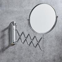 China 6 INCH wall mounted folding makeup mirror Rotating with Bathroom folding mirror on sale