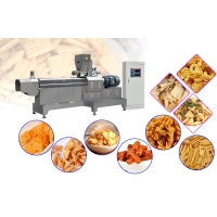 China What Are The Characteristics And Advantages Of The Extruded Fried Food Production Line wholesale