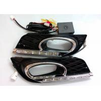 China Shockproof Chrome Auto Accessories , Honda Civic 2011 - 2013 DRL LED Daytime Running Lights Indicator Replacement wholesale