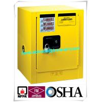 China 4 Gallon / 15 L Chemical Safety Storage Cabinets Manual Closing For Laboratory wholesale