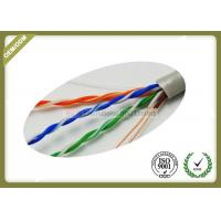 China 305m / Roll Cat5e UTP Network Cable 4 * 2 * 0.45mm Pass Fluke Test With Real OD wholesale