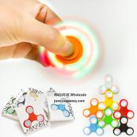 China Various Color ABS Spinner Fidget Puzzle Tri-Spinner Hand Spinner More than 3Mins wholesale