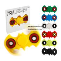 China Accept sample order Bat Style Fidget Toy Plastic EDC Hand Spinner For Autism and ADHD Anxiety Stress Relief Focus wholesale