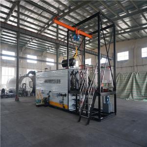 China Drum Lifting Bitumen Decanting Machine High Performance 2 Lines Sliding Way wholesale