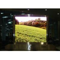 China Standard SMD2121 P5 die cast aluminum cabinet  indoor full color Haning led display wholesale