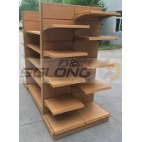 China Professional Supermarket Medium Duty Racking / Steel Shelf Racking System wholesale
