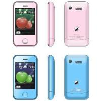 China KA08  Mini iphone dual sim 2.6inch wholesale
