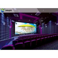 China High Definition  Sound Vibration Cinema With Big Screen Dual Projectors wholesale