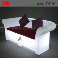 China LED Chesterfield sofa / LED PE chesterfield sofa /  for indoor / outdoor wholesale