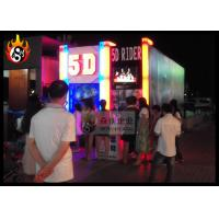 China Amazing 5D Movie Theater Equipment with Motion Ride , Hydraulic XD Cinema Equipment wholesale