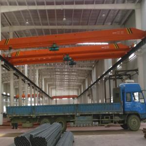 China Factory Double Hoist Bridge Overhead Crane 300 Ton Rail Electric Hoist on sale