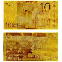 China Currency Banknotes 10 European Note Gold Banknote wholesale