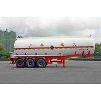 China 2 Axles Oil Tank Trailer 28600L , Fuel Tanker Semi Trailer 28.6CBM 10000×2490×3350 wholesale