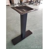 China Bistro Table base Mild Steel Table leg  Powder Coated Restaurant Furniture wholesale