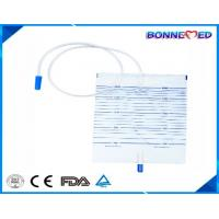 China BM-6201 Disposable Economy Urinary Drainage Bag Push-pull Valve with CE/ISO Approved on sale