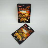 China Hardware Usage Blister Card Packaging Go RHINO Hole Capsule Container Recycled Paper wholesale