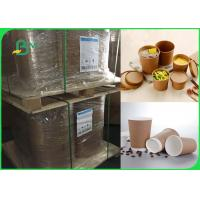 China 80gsm one side coated food grade high strength cups paper in roll wholesale