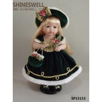 "China 15"" TOY DOLL PORCELAIN DOLL,ceramic doll, gift doll, doll manufacturer, doll OEM, GIRL DOLL wholesale"