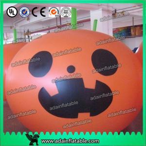 China Halloween Decoration Inflatable Pumpkin Helium Balloon wholesale