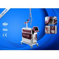 China Metal Cover Laser Tattoo Removal Machine High Focus 1064nm / 532nm Laser Energy on sale
