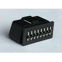China RoHS Standard Obd2 Scanner Connector / Male Plug Connector With Curved Pins wholesale