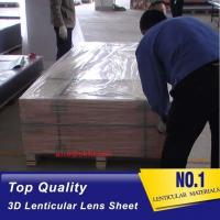 Quality OK3D 120cmx240cm, 3mm 30LPI lens for Inkjet Printing 3D lenticular billboard for sale