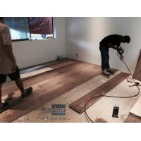 Customized 20/6 x 300 x 2200mm AB grade American Walnut Flooring for Philippines Villa Project