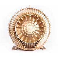 China 1.1kW Ultra High Pressure Ring Air Blower For Dental Suction , Golden Color wholesale