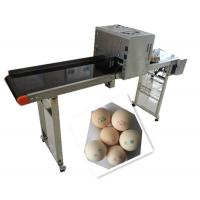 China Whole Plate Egg Inkjet Marking Machine With Thermal Foam Type Multiple Nozzle wholesale