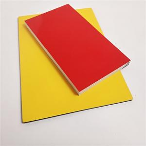 China Color Coated  Aluminum Composite Panel Width 1500mm Max Outer Wall wholesale