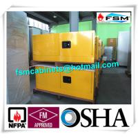 China Steel Flammable Safety Cabinets With Double Doors For Hazardous Material Storage wholesale