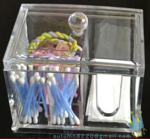 China acrylic makeup case organizer wholesale