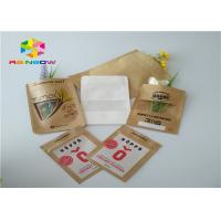 Customized printed kraft paper ziplock stand up pouch beef jerky snack plastic