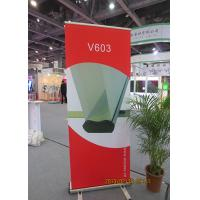 China Scrolling Retractable Trade Show Banners For Exhibition 80*200cm wholesale