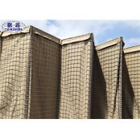China 4.0mm Security Sandbag Barrier For Military Fortification Welding Technology wholesale