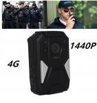 China RECODA M510 1440P 4G Body Camera , bodywear video cameras Wifi GPS long working time wholesale