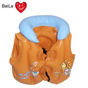 China PVC inflatable CHILDREN swimming vest wholesale