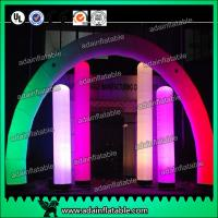 China 3M Valentine's Decoration Inflatable Arch Lighting Inflatable Column With RGB Color wholesale