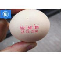 Buy cheap Cycle Move Nozzle And Entire Tray Egg Printing Machine For Big Coder from wholesalers