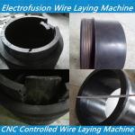 China pe electro fusion wire laying machine - tapping saddle wire laying - electro fusion pad wholesale