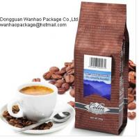 China Various Colorful Metalized Film Coffee Packaging Bags , Laminated PET / AL / PE Material wholesale