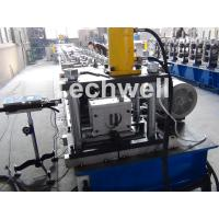 China Solar Strut Channel Cold Roll Forming Machine With Servo Feeding Device & Press Punching Machine wholesale