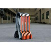 China Retractable Portable Crowd Control Gates For Barricade Road Block wholesale