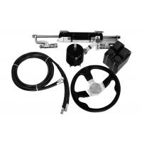 China Easy To Install Outboard Hydraulic Steering Kit 27 Cc/Rev Pump 141.1 Cc Cylinder Volume wholesale
