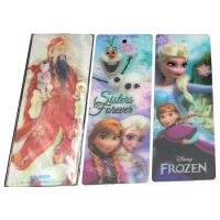 China Rectangle Recyclable 3D Lenticular Bookmarks Glossy / Matt Lamination wholesale