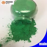 Dark Green Decorative Powder Coating High Durability Polyester Resin Material